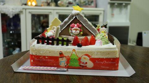 クリスマスケーキの写真フリー素材 Christmas cake photo free material
