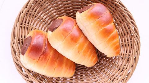 パン、チョココロネ、お菓子、おやつ、料理、食べ物の写真フリー素材 Bread, chocolate cornet, sweets, snacks, food, food photo free material