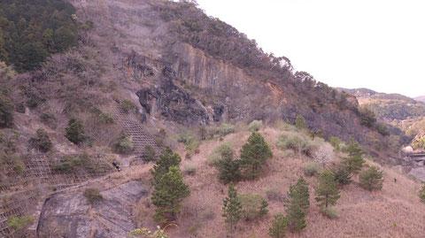 山、枯れ木、冬、はげ山、風景写真フリー素材 Mountains, dead trees, winter, bald mountains, landscape photography free material