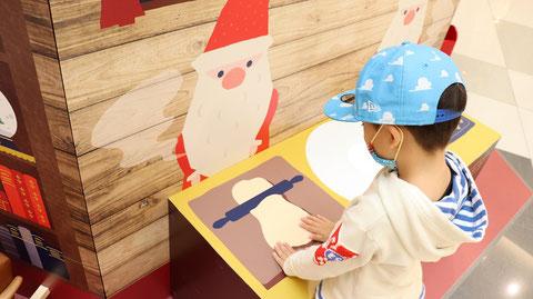 サンタさんとキッチンのフリー素材 Free material for Santa and the kitchen