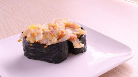 シーフードミックス、軍艦、寿司、外食、料理、食べ物の写真フリー素材 Seafood mix, warship, sushi, eating out, cooking, food photos free material