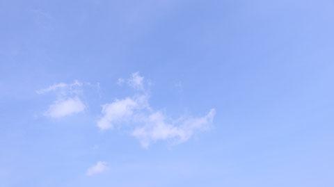 青空の写真フリー素材 Blue sky photo free material