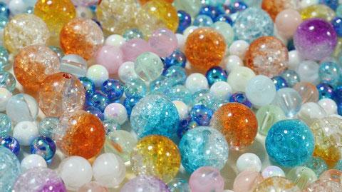 ビーズのフリー素材 Bead-free material