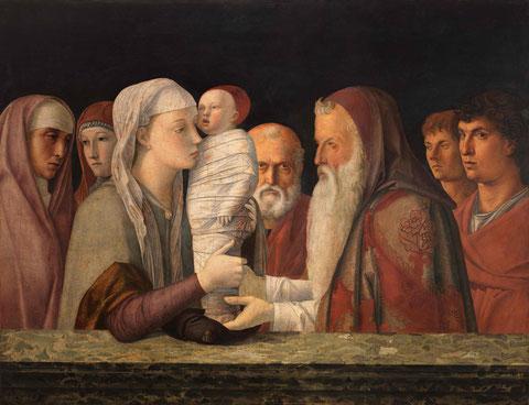 Giovanni Bellini, Die Darbringung Christi im Tempel, ca.1472 © Fondazione Querini Stampalia, Venedig / cameraphoto arte snc.