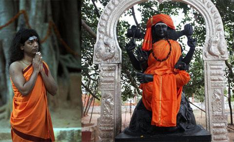 Dakshinamurthi, des Ur-Guru, die Grabstätte von Lord Shiva