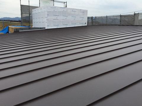 屋根工事(ガルバリウム鋼板)