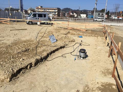 地盤調査(表面波深査法)