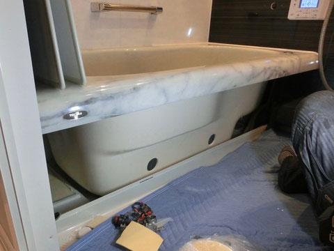 浴槽(人造大理石)開口