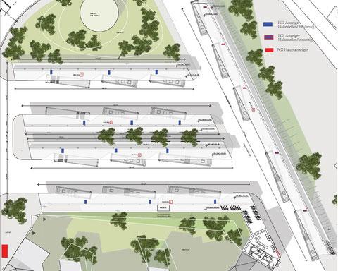 Aktuelle ZOB-Planung für die Stadt Eisenach
