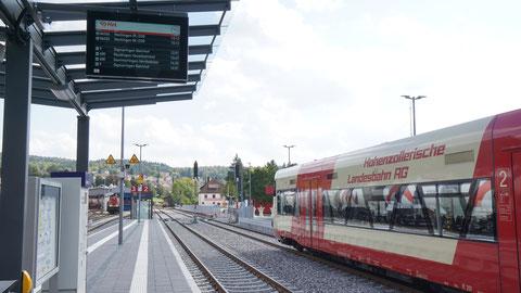 Neuer Bahnhof in Gammertingen