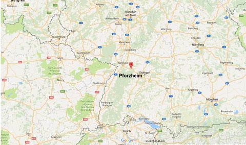 Google Kartenausschnitt