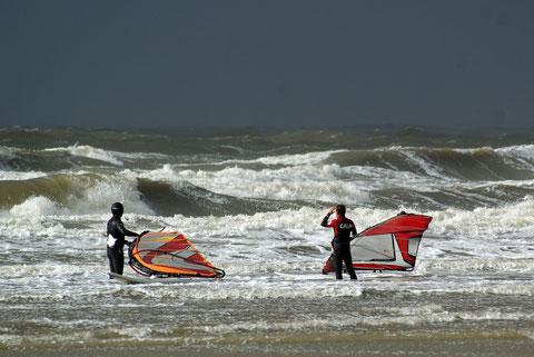 Windsurfurlaub an der Nordsee...