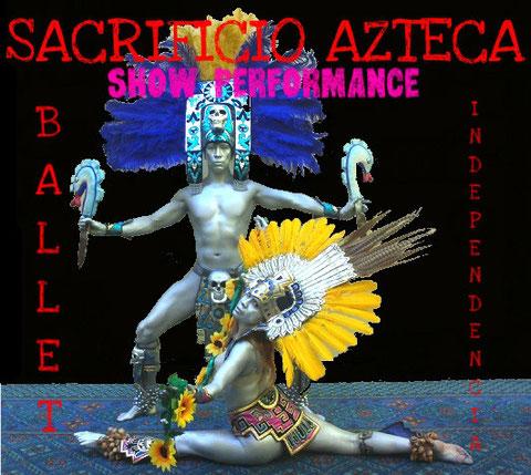 sacrificio azteca show performance