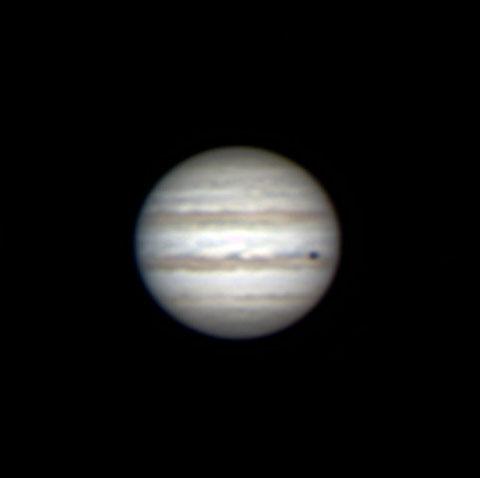Mein erstes Jupiter-Foto - aufgenommen am 09.02.2015.