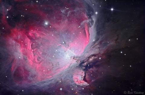 M42 - Orionnebel (c) Beni Kissling