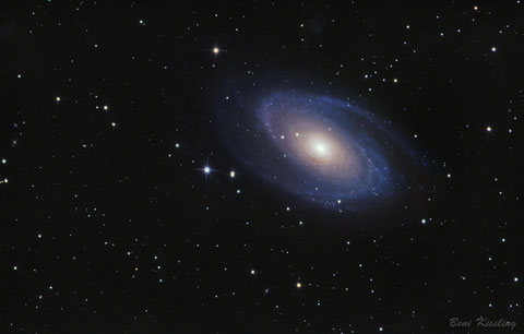 M81 - Galaxie (c) Beni Kissling