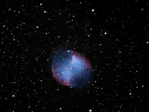 Messier M27 - 12x300s, -6.5Grad , ungebinnt, Fullframe - mit Darks, ohne Flats - 17.07.2014