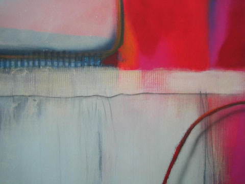 ligne rouge No. 1 (Detail), 2013