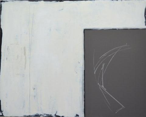 Andrea Ridder, Change 4, Acryl- und Tafelfarbe auf Leinwand, 100 x 80 cm, 2017