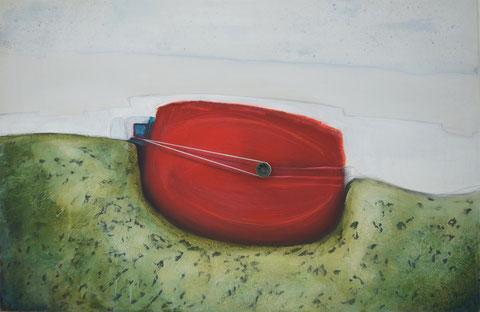 Andrea Ridder, O.T.13-06-16, 80 x 120 cm