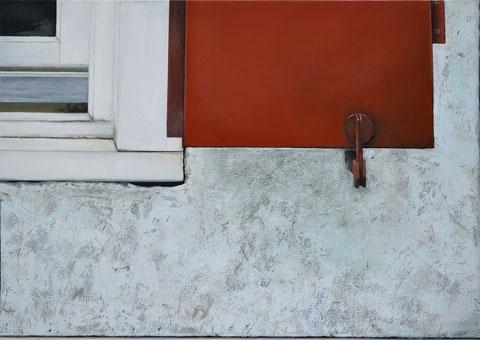 Andrea Ridder, OT. 19_04_03, 70 x 100 cm, Acrylmischtechnik