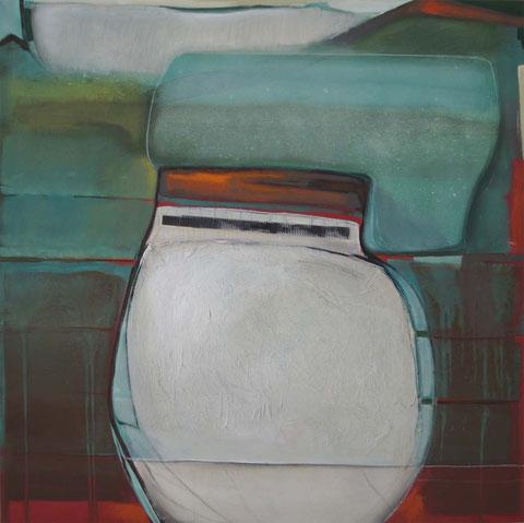 Andrea Ridder: 13-04-11, 100 x 100 cm