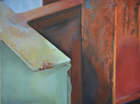 Andrea Ridder, O.T.17_07_13, 160 x 120 cm, 2017