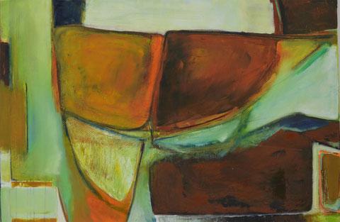 Andrea Ridder, O.T.14-10-14, 80 x 120 cm