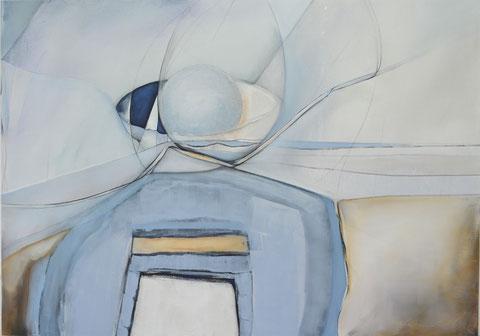 Andrea Ridder, O.T.19_06_07_100 x 140 cm, 2019