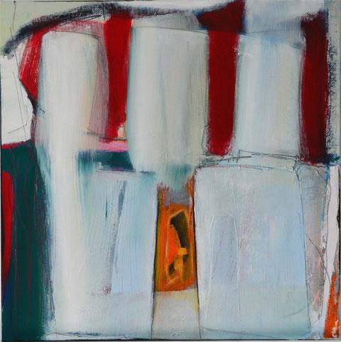 Andrea Ridder, O.T. 15-08-09, 60 x 60 cm