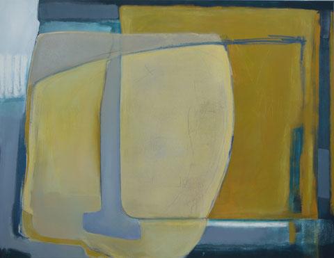 Andrea Ridder, O.T. 19_07_08, Acrylmischtechnik, 100 x 130 cm, 2019