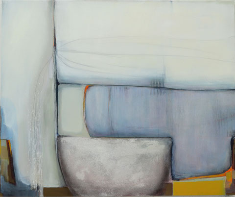 Andrea Ridder, O.T. 19_03_02, Acrylmischtechnik, 100 x 120 cm, 2019