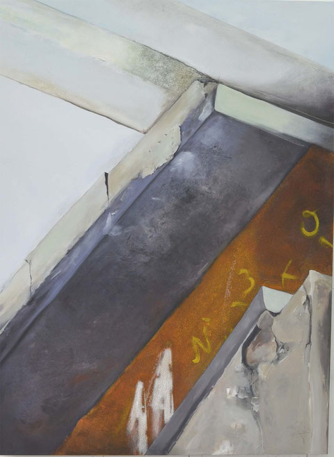 Andrea Ridder, O.T. 14-08-10, 160 x 120 cm