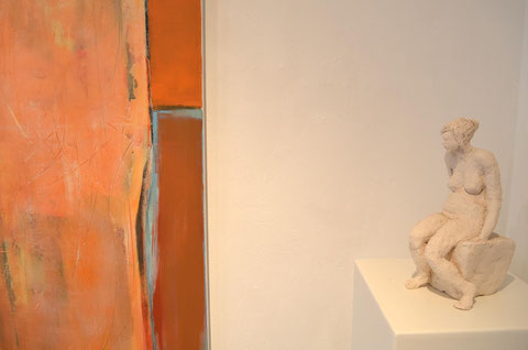 Andrea Ridder, Figur: Gebrannter Ton, Privatbesitz