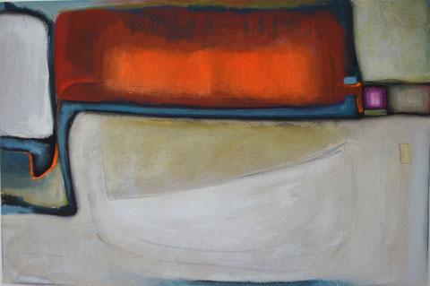 Andrea Ridder: O.T. 13-07-19, 80 x 120 cm