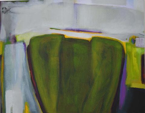 Andrea Ridder, komplemnetäres Help!, 2014, 110 x 140 cm