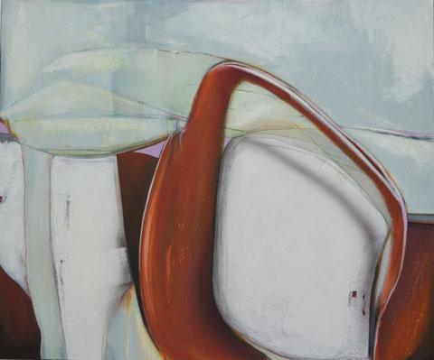 Andrea Ridder, O.T. 19_04_04, Acrylmischtechnik, 100 x 120 cm, 2019