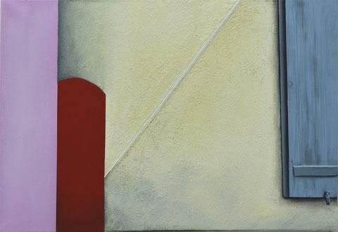 Andrea Ridder ,O.T. 19_04_05, 70 x 100 cm, Acrylmischtechnik