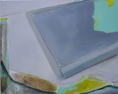 Andrea Ridder, O.T. 16_08_125, Acrylmischtechnik, 80 x 100 cm, 2016
