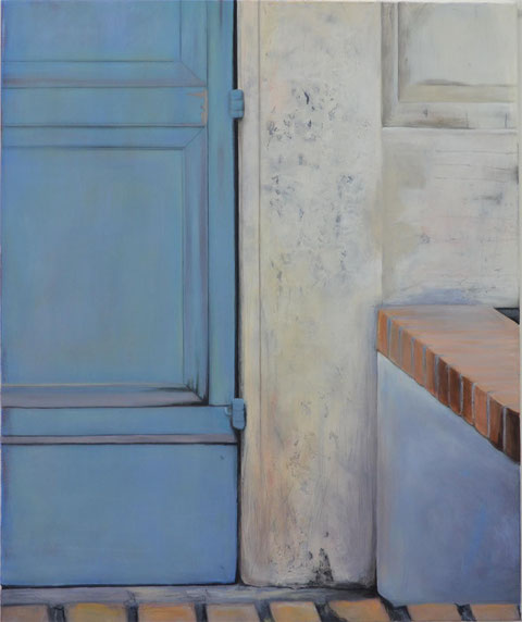 Andrea Ridder: O.T.16_10_19, Acrylmischtechnik auf Leinwand, 2016