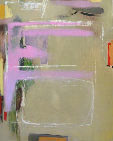 Andrea Ridder, O.T. 19_09_10, Acrylmischtechnik, 80 x 100 cm, 2019