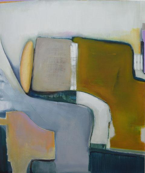 Andrea Ridder, O.T. 19_09_11, Acrylmischtechnik, 100 x 120 cm, 2019