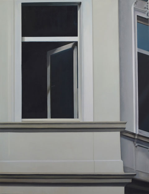 Andrea Ridder, O.T. 21_01_02, 130 x 100 cm Acryl auf Leinwand
