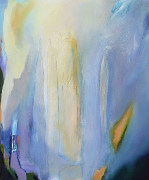 Andrea Ridder, Ohne Titel (Afternoon), 120 x 100 cm, 2018