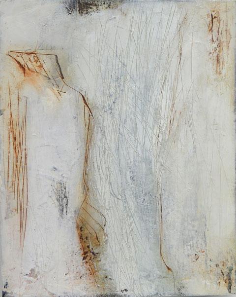 Andrea Ridder, Ohne Titel, Öl auf Holz, 2019