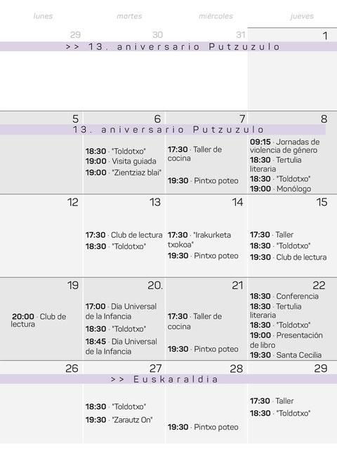 Actividades y fiestas en Zarautz