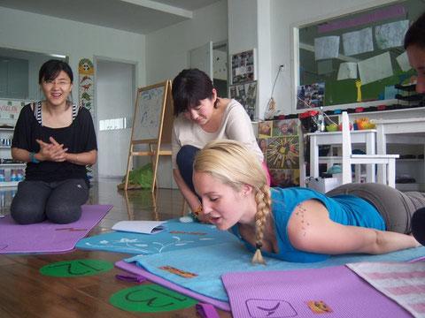 Ausbildung zum Kinderyogalehrer / zur Kinderyogalehrerin in Peking