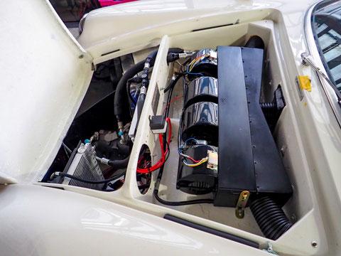 ロータス・ヨーロッパ専用エアコン【EAC】エレクトリック・エアコン・システム-電動コンプレッサー制御エアコン-