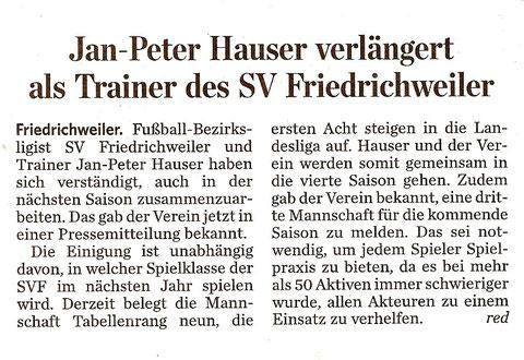 Saarbrücker Zeitung 16.01.2012