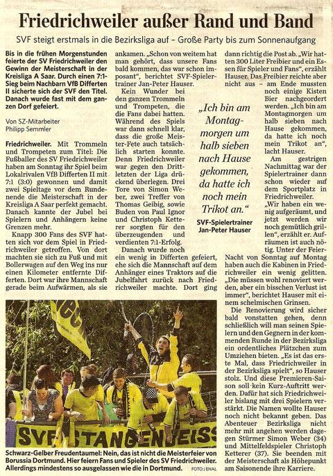 Saarbrücker Zeitung 17. 05.11